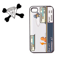 Pokemon inspired phone case for iphone 4 / 4s, iphone 5, ipod touch 4g itouch - Squirtle vs Charmander