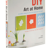DIY Art at Home | Mod Retro Vintage Books | ModCloth.com