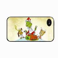 Iphone 5 Case The Grinch, Max and Cindy Lu Woo