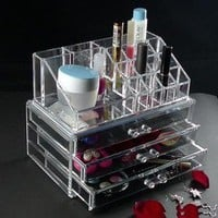 Cosmetics Organizer .Luxury Crystal Acrylic Makeup Organizer.Multiple Display