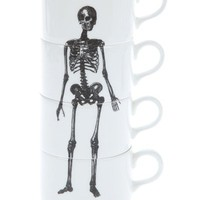 Stackable Skeleton Coffee Mugs