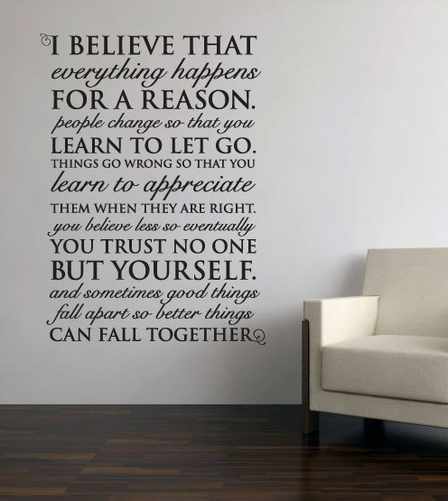 Things Happen For A Reason Quotes: Everything Happens For From Aubreyheath On