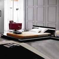 Modern  Sonata Platform Bed By Vig Furniture