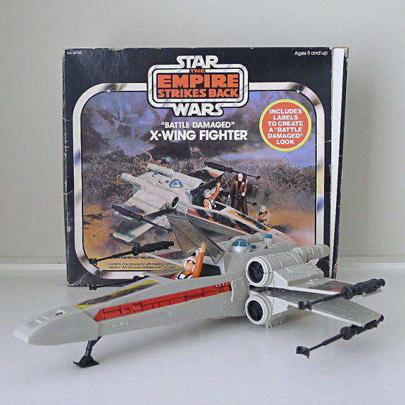 Vintage X Wing Fighter 106