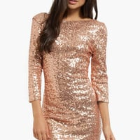 Sparkler Sequin Dress $49