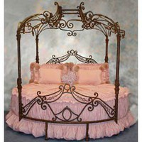 Windsor Round Bed Twin Beds - LuxuryLamb.Com