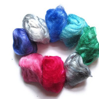 Hand Dyed Firestar -  Eight Color Sampler
