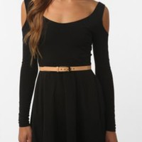 UrbanOutfitters.com > Sparkle & Fade Cold Shoulder Knit Dress