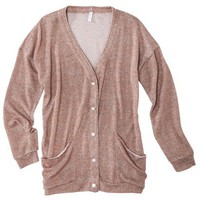 Xhilaration® Juniors Lurex Cardigan - Assorted Colors