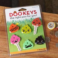 Dookeys - Poo Shaped Key Covers