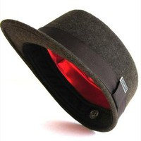 Kit Brown Trucker Cap -Newsboy, Baker Boy Winter Cap,Hunting from dasmarca