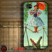 Haunted Mansion Stretching Painting - Apple iPhone 4s and iPhone 4 Case Cover