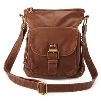 Multi-Zip Cross-Body Bag: Charlotte Russe