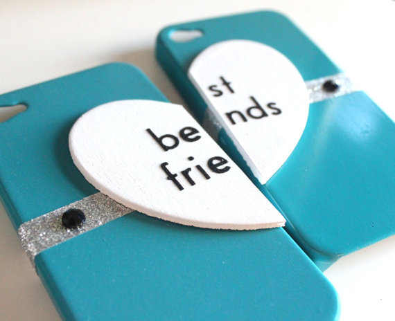Best Friends iPhone 4 cases from VanityCases on Etsy ...