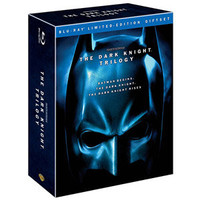 Walmart: The Dark Knight Trilogy: Limited Edition Giftset (Blu-ray) (Widescreen)