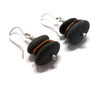 Zen Earrings Beach Stone Jewelry Lake Superior Pebble Sterling Silver