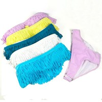Beauty Womens Padded Boho Fringe Top Bikini Swimwear Swimsuit New 5 Colors B273