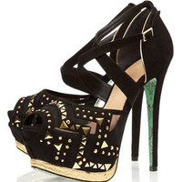 **Stud Lightning Platform Sandals by CJG - Shoes - New In This Week  - New In