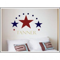 Alphabet Garden Designs Three Stars Wall Decal - child001 - All Wall Art - Wall Art & Coverings - Decor