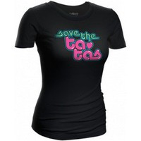 Save the Ta-tas Lava Lamp T-Shirt - Save the Ta-tas T-Shirts - Save the Ta-tas Bumper Stickers &amp; Accessories