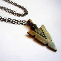 Navajo Arrowhead Indian Necklace