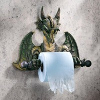 Commode Dragon Tyrant Bath Tissue Holder - Amazon.com