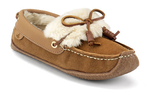 Sperry Top-Sider Women's Violet Moccasin Slipper