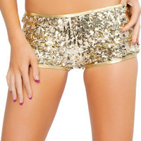 Sequin Short, Sequin Booty Shorts, Sequin Go Go Shorts