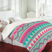 DENY Designs Home Accessories | Iveta Abolina Pink Navajo Duvet Cover