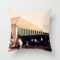 Cafe Du Monde Throw Pillow by Erin Johnson | Society6