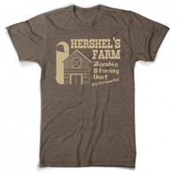 Hershels farm t shirt | walking dead hershel shirt
