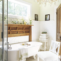 vintage furniture bathroom