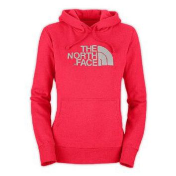 Women's The North Face Half Dome Hoodie Sweatshirt Teaberry Pink Size Small