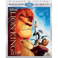 Amazon.com: The Lion King (Four-Disc Diamond Edition Blu-ray 3D / Blu-ray / DVD / Digital Copy): Matthew Broderick, Jeremy Irons, James Earl Jones, Whoopi Goldberg, Niketa Calame, Nathan Lane, Ernie Sabella, Robert Guillaume, Rowan Atkinson: Movies &amp; TV