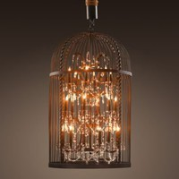 Vintage Birdcage Chandelier Large | Chandeliers | Restoration Hardware