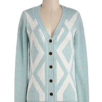 Monday Morning Sky Cardigan | Mod Retro Vintage Sweaters | ModCloth.com