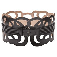 Azzedine Ala?a Loop Interlaced Belt - Edon Manor - farfetch.com