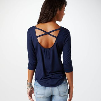 AE Cross-Back T | American Eagle Outfitters