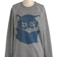 Come Tome to Me Sweatshirt | Mod Retro Vintage Sweaters | ModCloth.com
