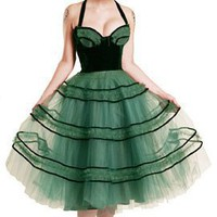 Vivienne Tulle Dress by getgoretro on Sense of Fashion