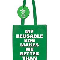 Reusable Shopping Bag. Curiosite