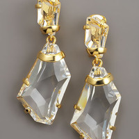 Kenneth Jay Lane - Crystal Drop Earrings - Bergdorf Goodman