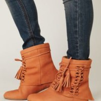 Jeffrey Campbell  Tain Tassel Boot at Free People Clothing Boutique