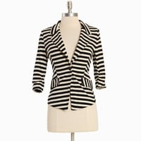 harper hayes striped blazer - &amp;#36;46.99 : ShopRuche.com, Vintage Inspired Clothing, Affordable Clothes, Eco friendly Fashion