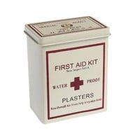 First Aid Tin | DotComGiftShop