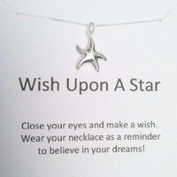 CHRISTMAS SALE Wish Upon A Star Nec.. on Luulla