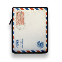 Air Mail iPad Slip Sleeve by ZERO GRAVITY by RecordWallets