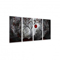 "All My Walls Classic Beauty by Megan Duncanson, Abstract Wall Art - 23.5"" x 48"" - MAD00050 - All Wall Art - Wall Art & Coverings - Decor"