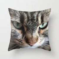 Tiger Lili 4 Throw Pillow by findsFUNDSTUECKE (Steffi Louis) | Society6