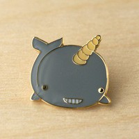 ShanaLogic.com - 100% Handmade & Independent Design! Narwhal Pin - New Arrivals